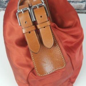Lauren Ralph Lauren Bags - Ralph Lauren Farringdon Orange Saddle Purse
